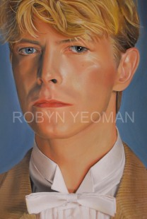 David Bowie (1984) detail