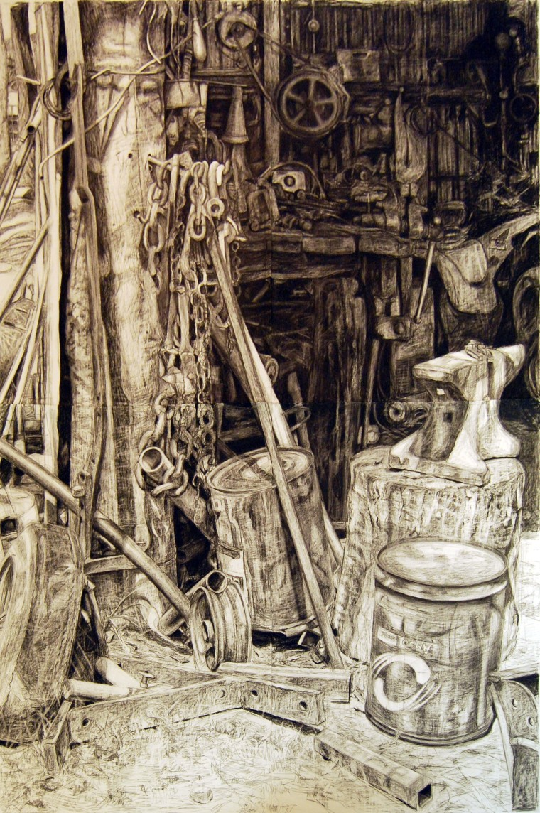 One Fine Day (Dobell Drawing Prize finalist)