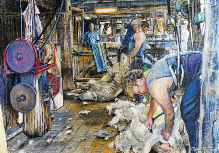 Shearing at Boronia